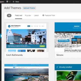 Cara Install Themes WordPress